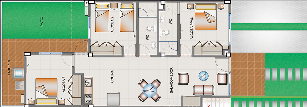 town-houses-primer-piso-tipo-a
