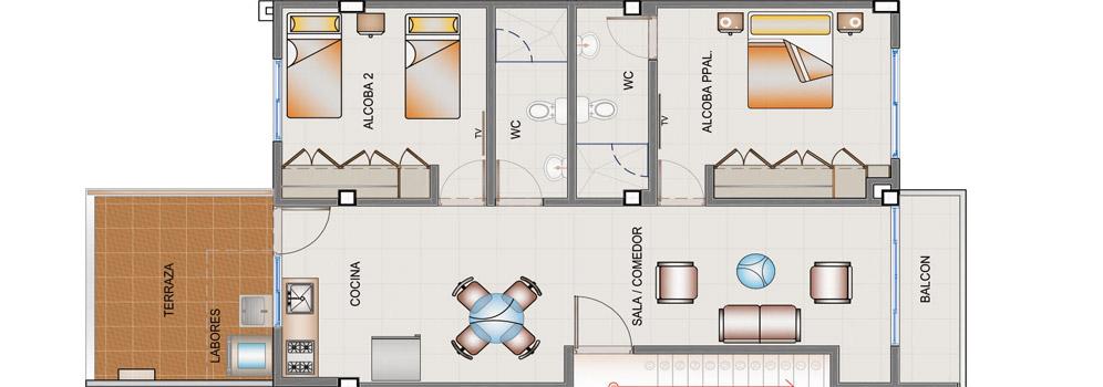 town-houses-segundo-piso-tipo-b